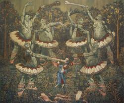 Dancing Ogre's tapestry