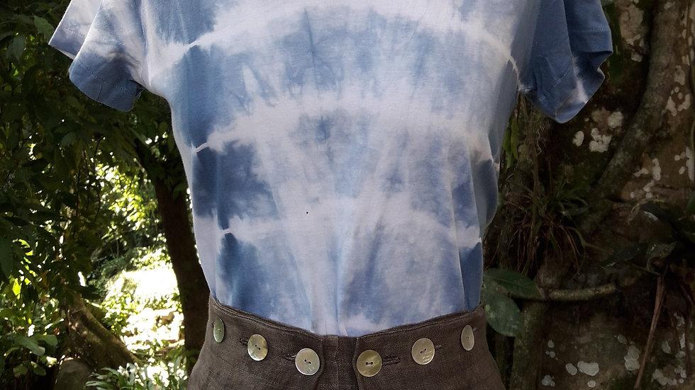 Camiseta básica índigo