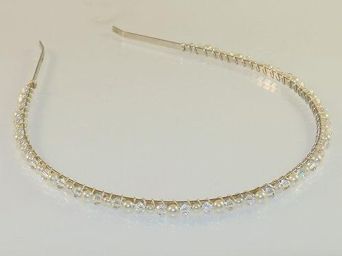 TIARA simple silver