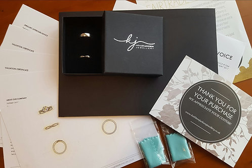BALANCE for Jody's bespoke ring
