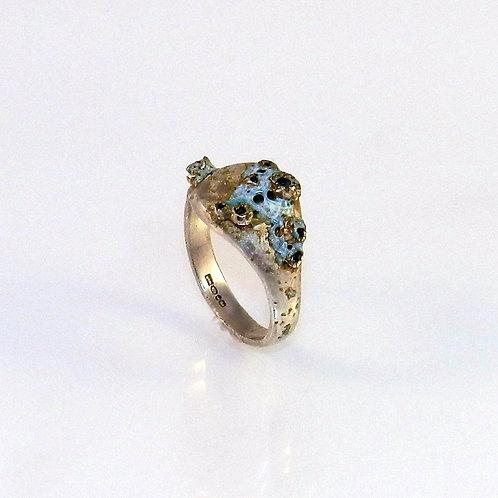 Blue Signet Ring