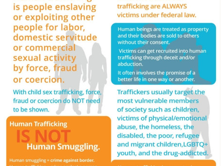 How you can stop Human trafficking