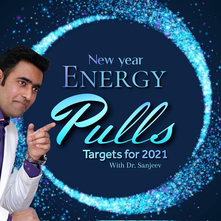 New year Energy pulls
