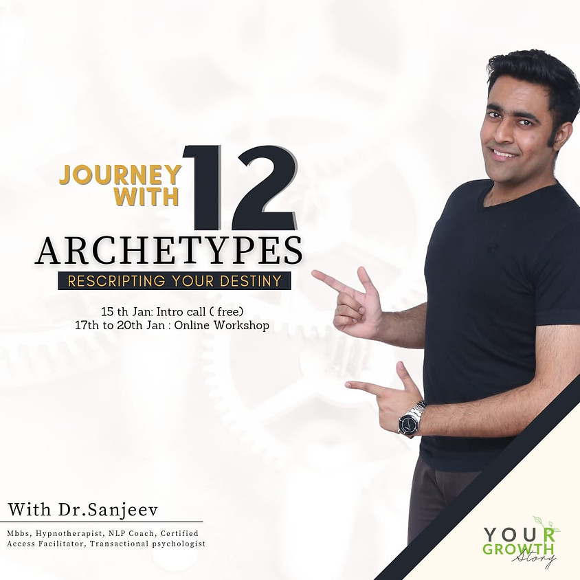 Journey with 12 Archetypes