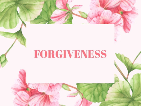 Forgiveness is the Key