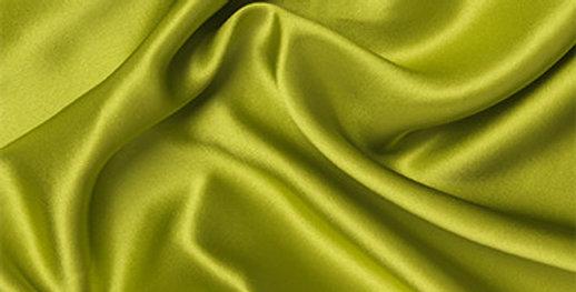 Lime 100% Silk Satin Slip