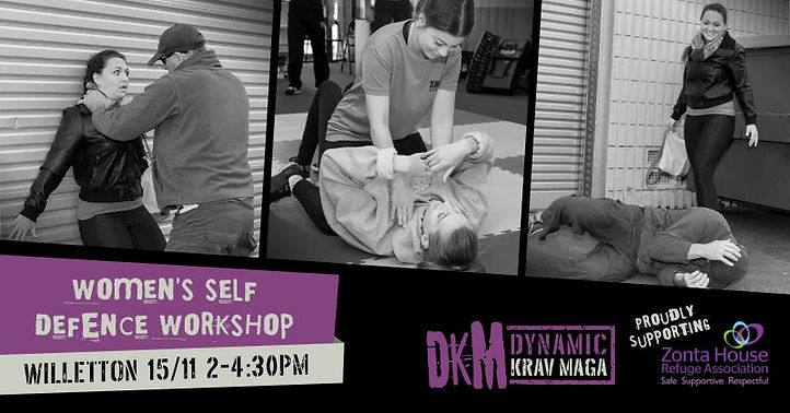 Women's Self Defence Workshop - November