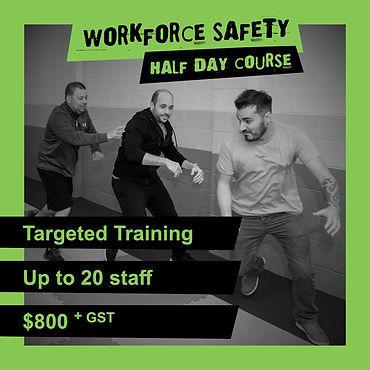 Workforce Safety - Half Day Course - 900