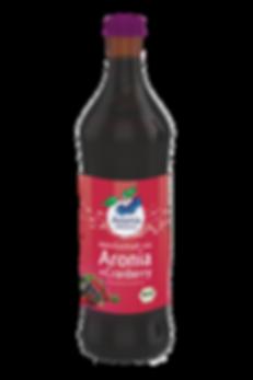 משקה ארוניה וחמוציות אורגני