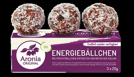 חטיף אנרגיה אורגני ארוניה + פירות יער 60 גרם
