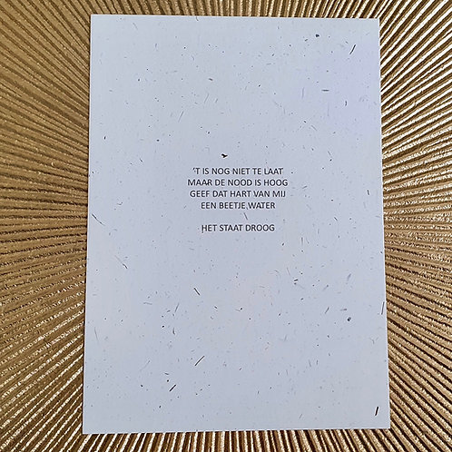 postkaart HART VAN MIJ