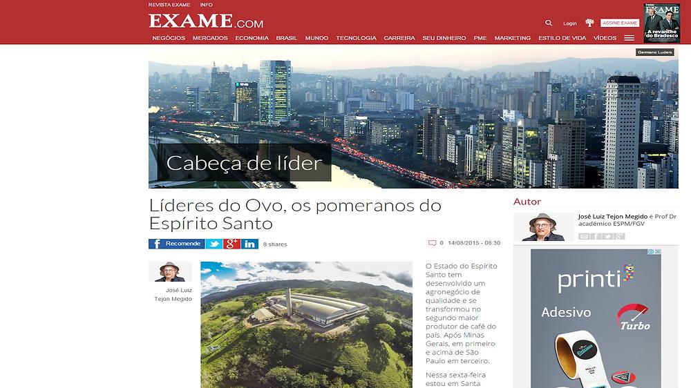 Texto postado no Blog Cabeça de Líder, do portal da Revista Exame