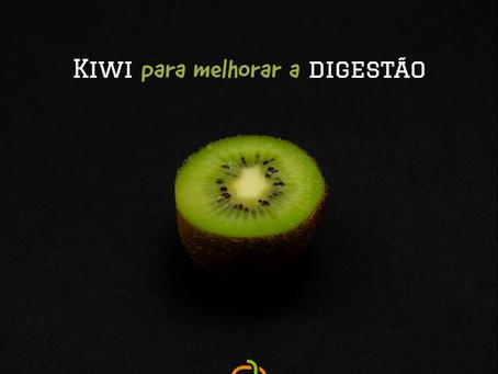 Kiwi para melhorar a digestão