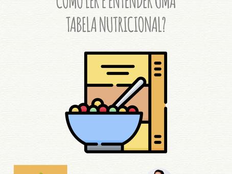 Como ler e entender uma tabela nutricional?