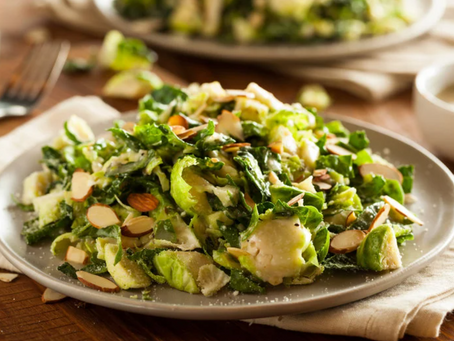 Kale salad with ginger