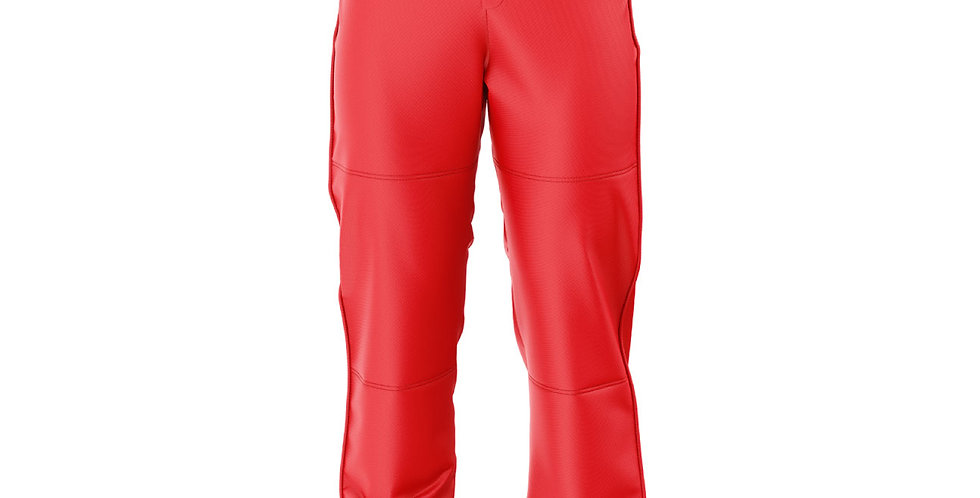 Baseball  Pants Red