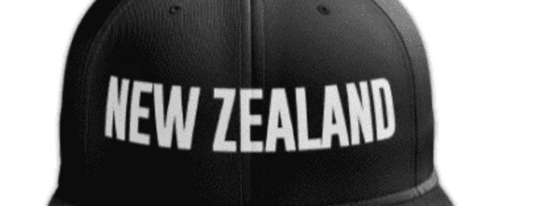 New Zealand Raised Embroidery Cap