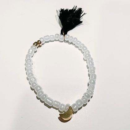 """""""Moon Child"""" Tassel Bracelet"""