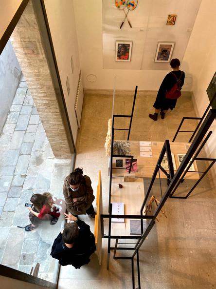 Installation view, credit Sandro Pignotti