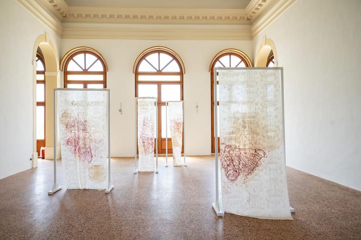Jessica Ferro, Portali, 2019, tecnica mista, dimensioni ambientali, courtesy l'artista, credit Jessica Ferro