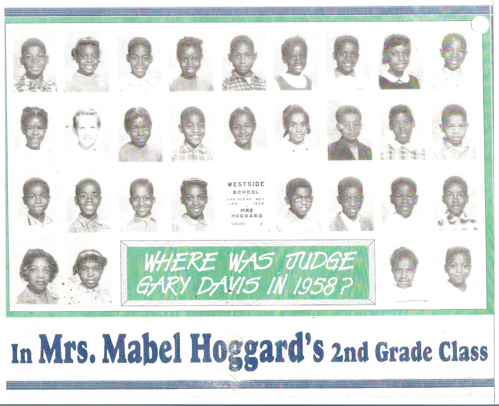 1958 2nd Grade Class
