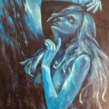 Blue light dancer