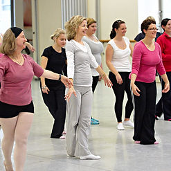 adultes classes e ballet, Montr