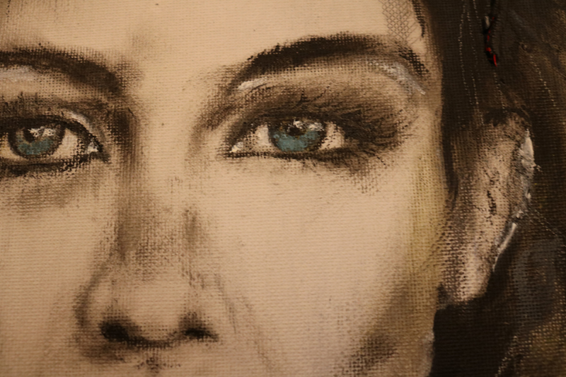 Peinture-de-femme-huile