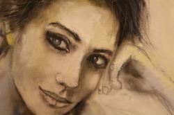Peinture-de femme-oil