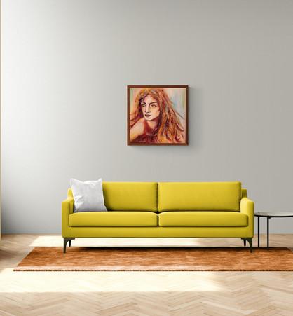 Oil-painting-vanvas-woman