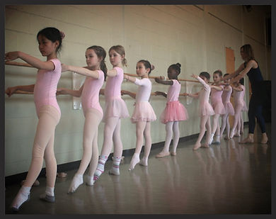 Jenie's Dance School in classe