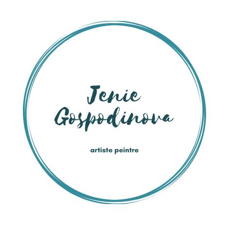 Jenie Gospodinova painter logo