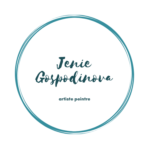 Jenie Gospodinova painter logo
