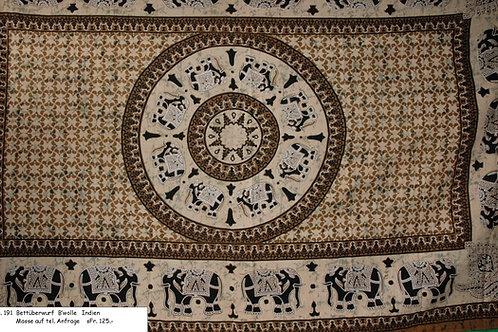 Bettüberwurf Baumwolle Nr. 191