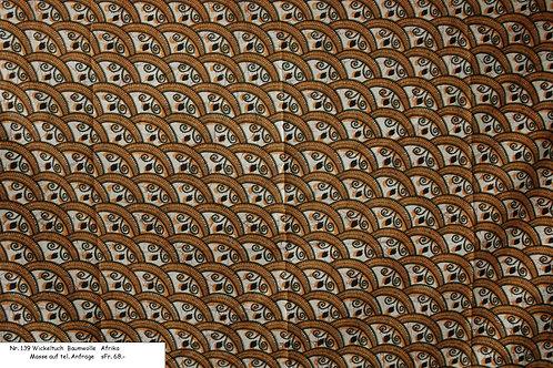 Wickeltuch Baumwolle Nr. 139
