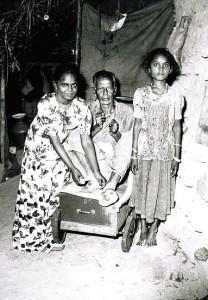 Leprasiedlung in Tamil Nadu