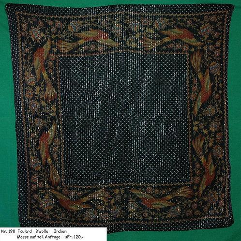 Foulard Baumwolle Nr. 198