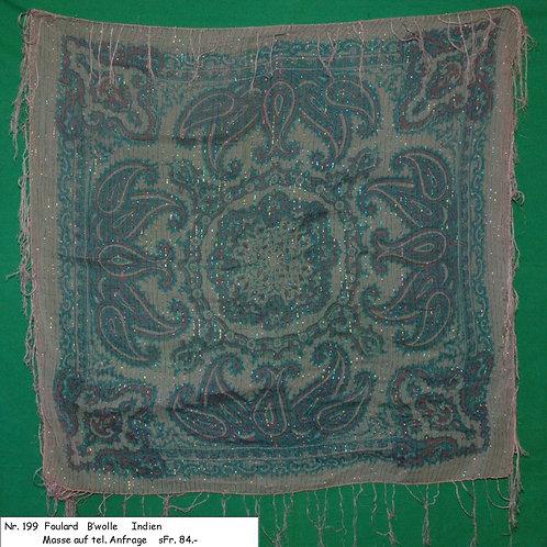 Foulard Baumwolle Nr. 199