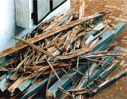 Renovation zerfallener Schulräume