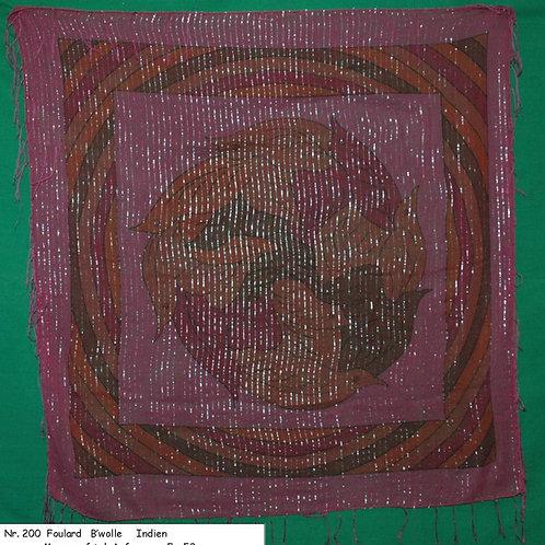 Foulard Baumwolle Nr. 200