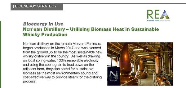 Biomass Heat Ncn'ean Distillery Social T