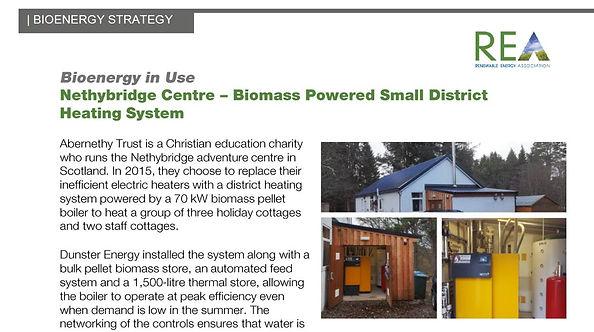 Biomass Heat Nethybridge Centre Social T