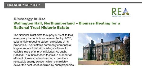 Biomass Heat Wallington Hall Social Tile