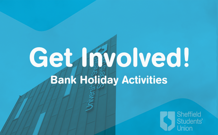 An image asset to help promote a list of virtual activities over the Bank Holiday weekends.
