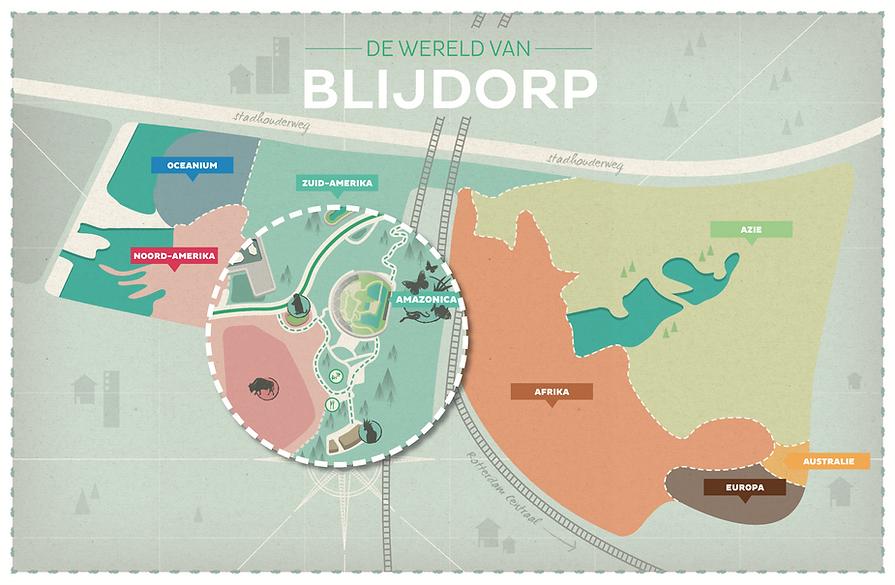 Plattegrond Diergaarde Blijdorp Peerdrops