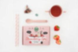 Strawberry Spa thee voor kinderen Okae