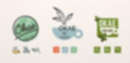 Ontwerp concepten logo Okae for Kids