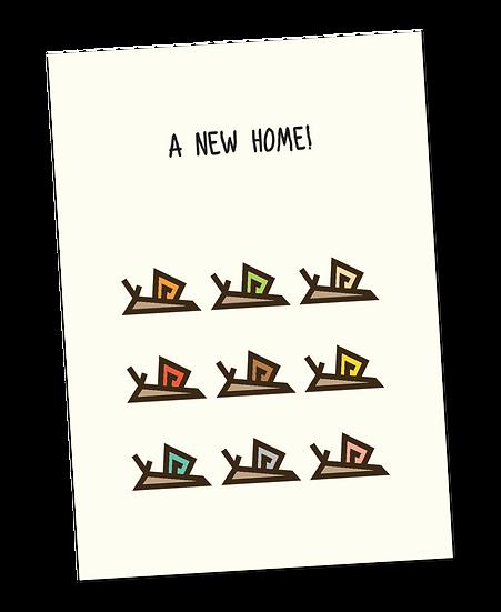 Ansichtkaart: Verhuisjesslakken