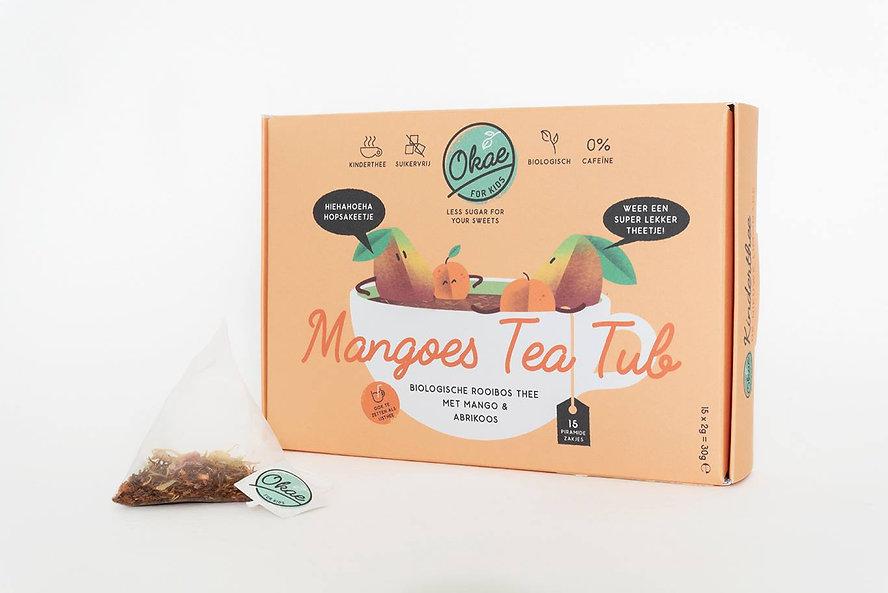 Mangoes tea tub Okae for Kids thee