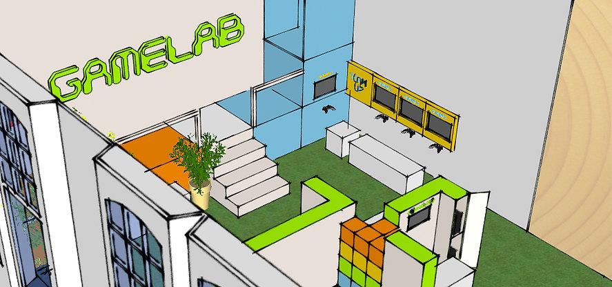 Concept Gamelab Science Centre Delft Peerdrops